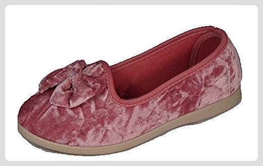 new product 77dc1 899b8 Dunlop Damen Florence Semi Tab Hausschuhe, Pink - rose ...