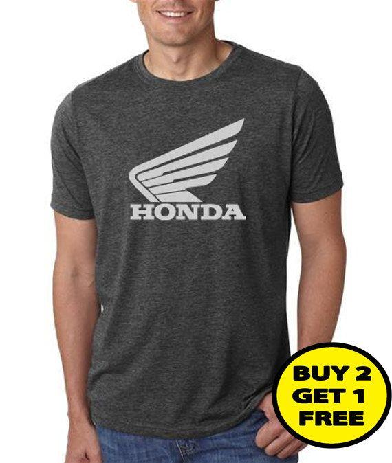 Not Honda motorcycle vintage tee shirt nice message