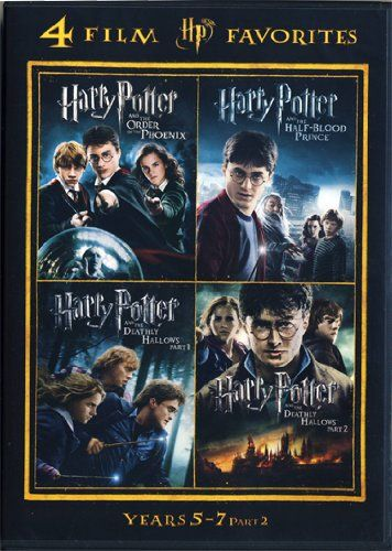 4 Film Favorites Harry Potter Years 5 7 Warner Home Video Http Www Amazon Com Dp B00h6tard8 Ref Cm Sw R Pi Dp Mj Harry Potter Years Harry Potter Good Movies