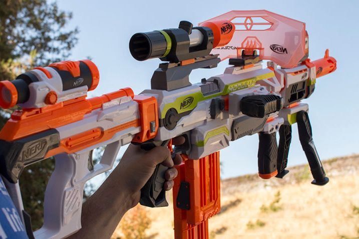 Assemble the Gun of Your Dreams With the Nerf Modulus Blaster