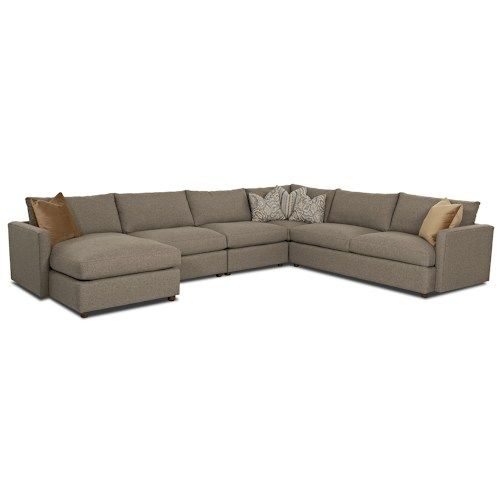Leisure Casual Sectional Sofa By