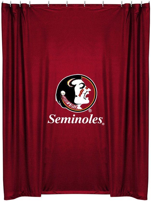 Florida State Seminoles Shower Curtain Florida State Seminoles Fabric Shower Curtains Sports