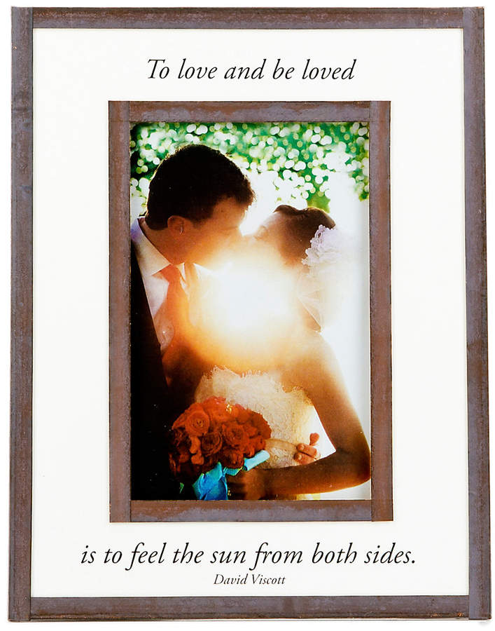 Bens Garden To Love And Be Loved 4x6 Handcrafted Frame Products