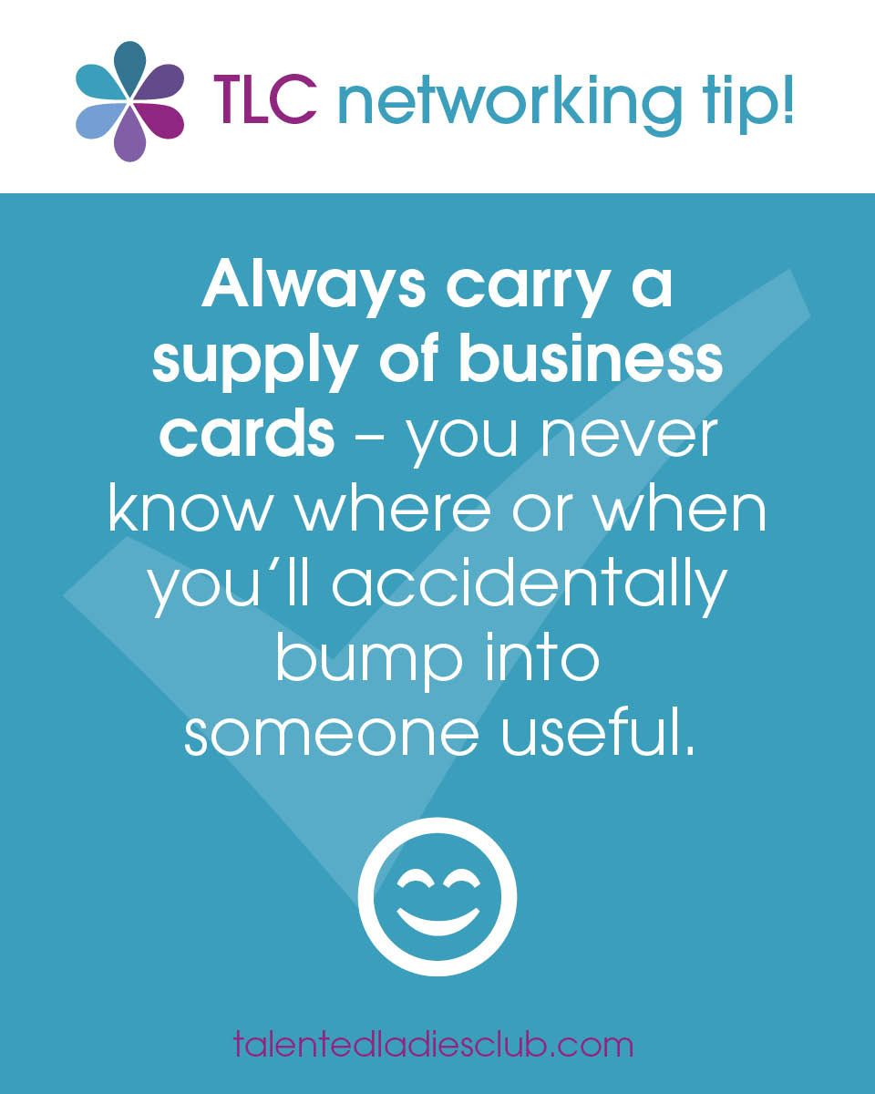 Networking Marketing tip #4 - always carry your business cards ...