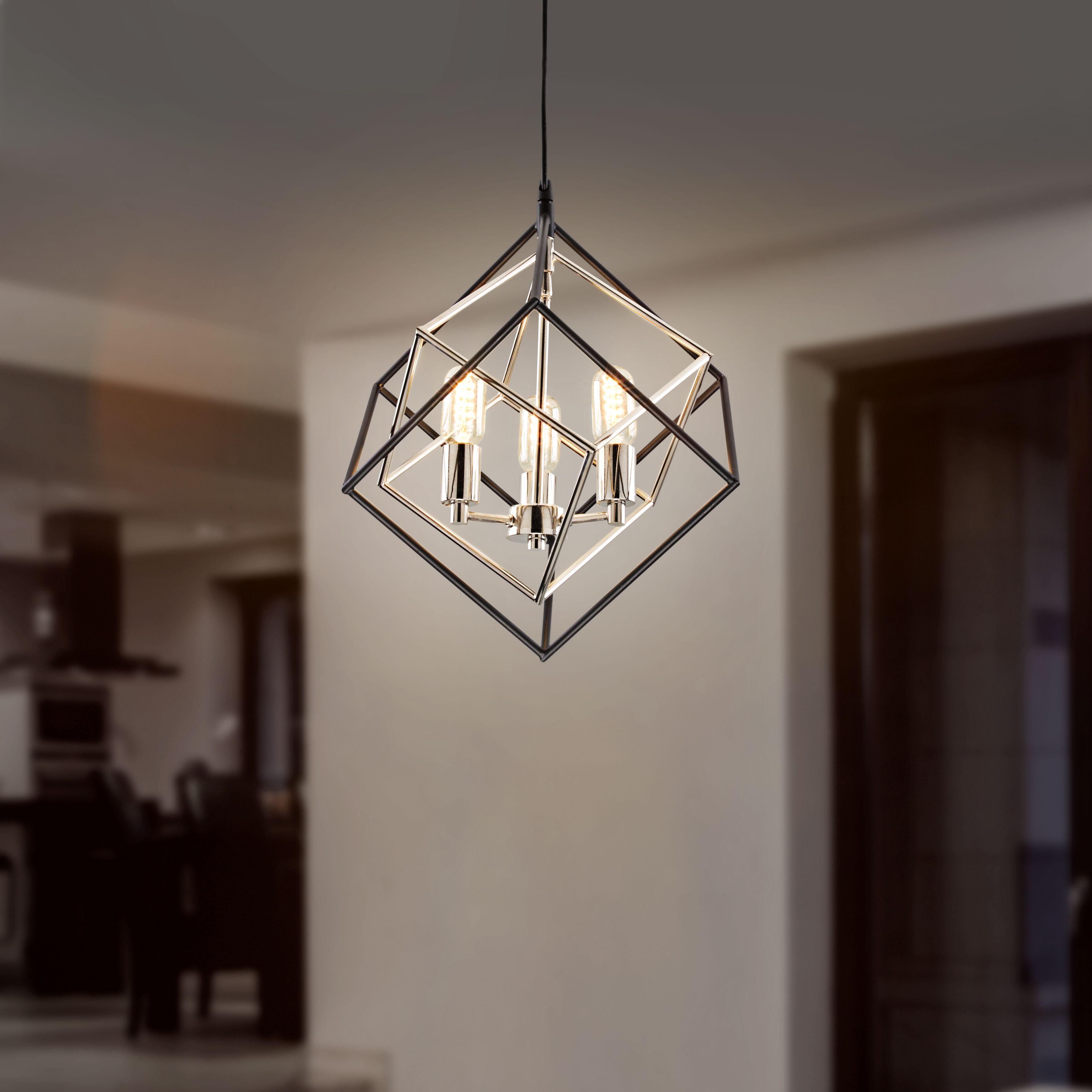 Lampara Colgante Moderna Perfecta Para Interiores Lamparas Para Sala Candiles Modernos Decoracion De Salas