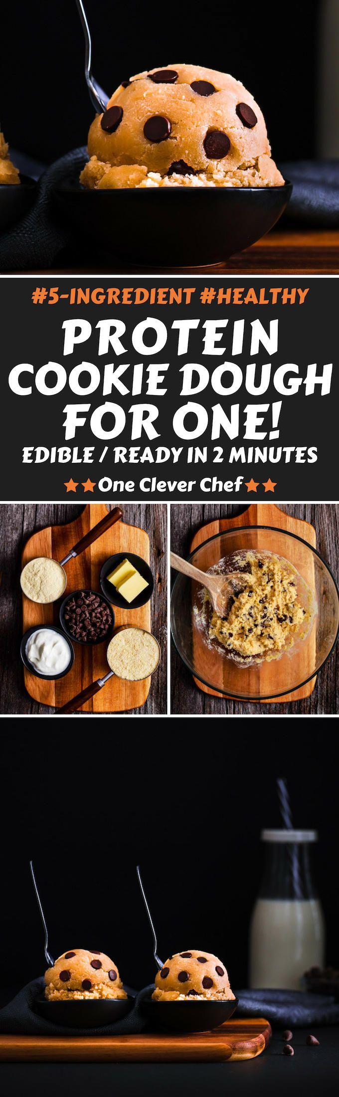 Protein Powder Cookies Dough #proteincookiedough
