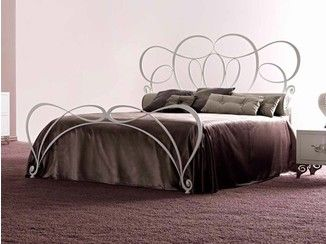 Letto Viola Cortezari : Double bed paloma cortezari iron beds double