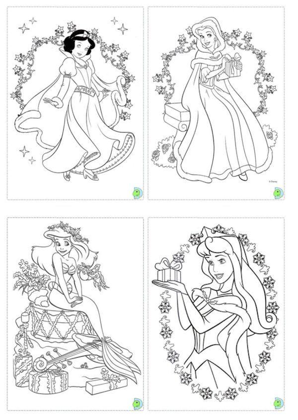 Dibujos navideños para colorear | Printing