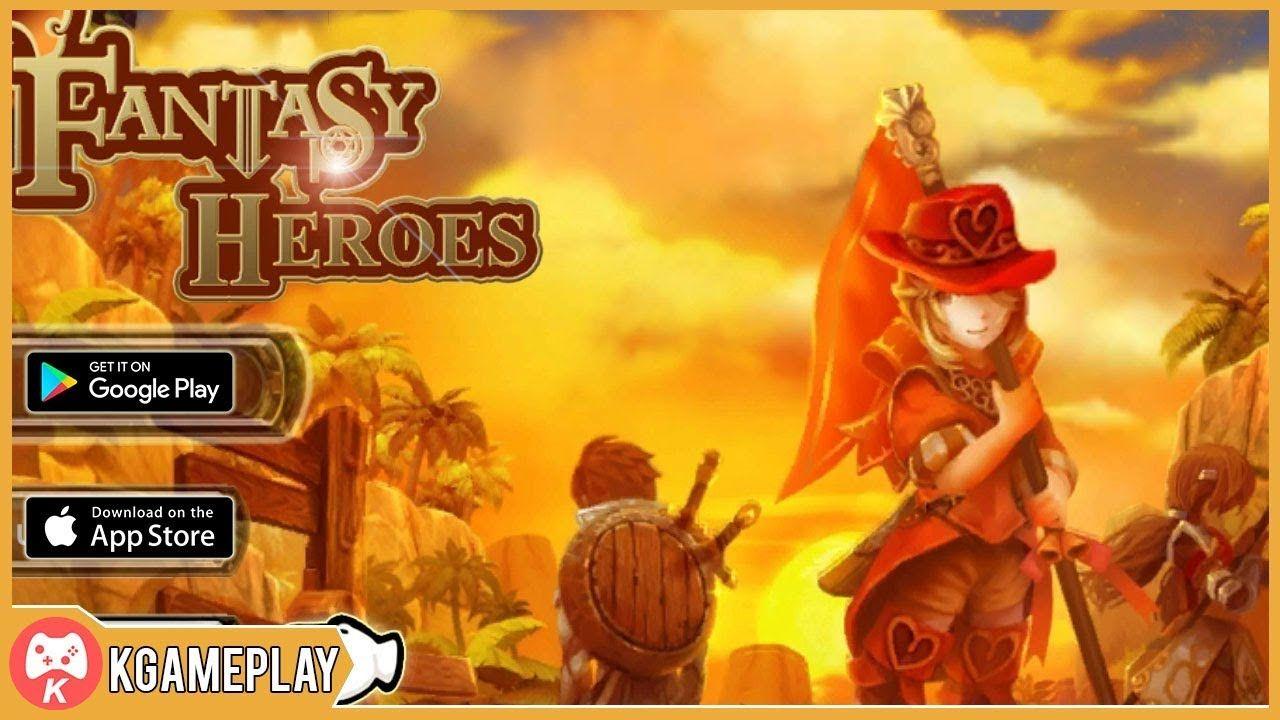 Fantasy Adventure iOS Android Gameplay Fantasy heroes