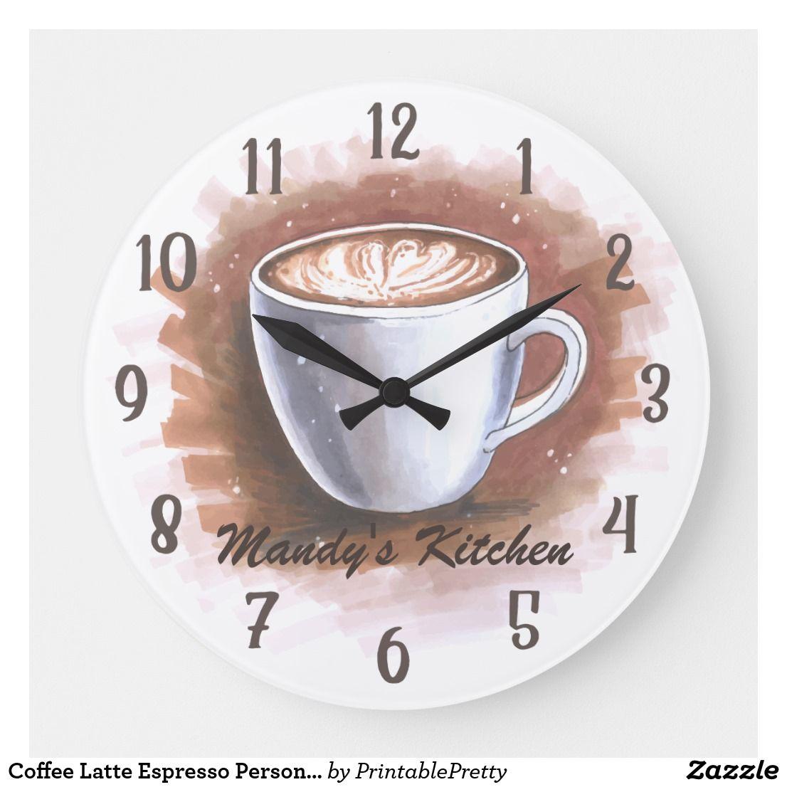 Westclox 32038 Coffee Mug Kitchen Quartz Wall Clock Hot Item Coffee Theme Kitchen Coffee Wall Decor Coffee Decor Kitchen
