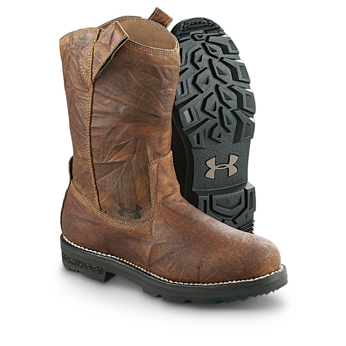 Men's Under Armour Tradesman Wellington Boots, Bootlegger - 592639, Cowboy  & Western Boots at Sportsman's Guide