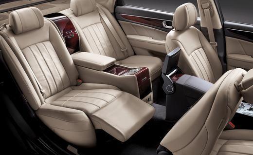Charming 2011 Hyundai Equus Interior Pictures Gallery