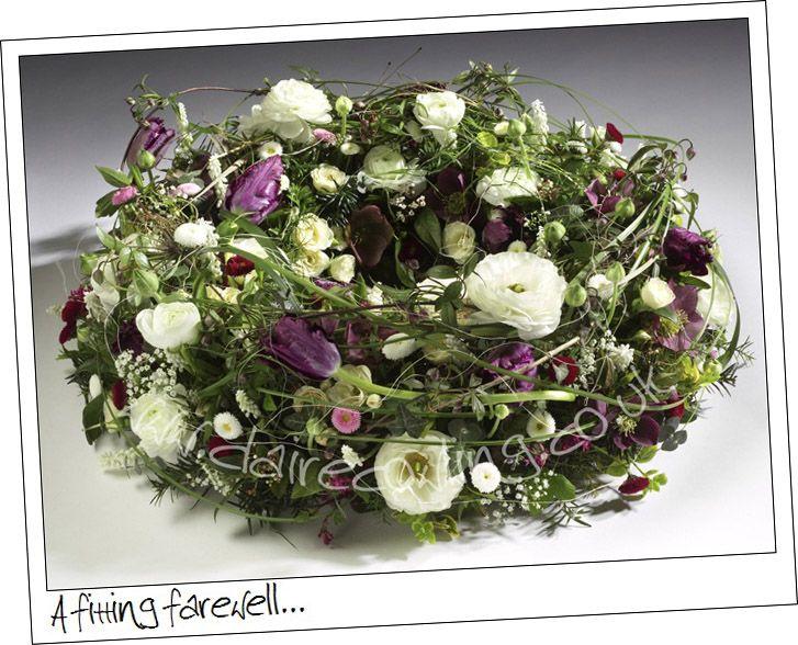 Claire Cowling Sympathy Flowers | Sympathy Designs ...