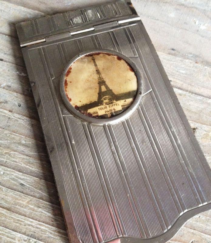Image of Eiffel Tower Souvenir Carnet de Bal