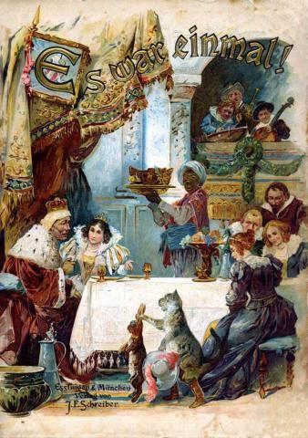 Сказочный мир братьев Гримм - иллюстрации из двух веков | Братья Гримм