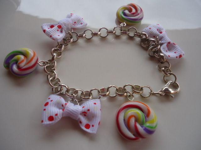 Bracelets & manchettes, bracelet sucettes est une création orginale de stephanie-esposito sur DaWanda