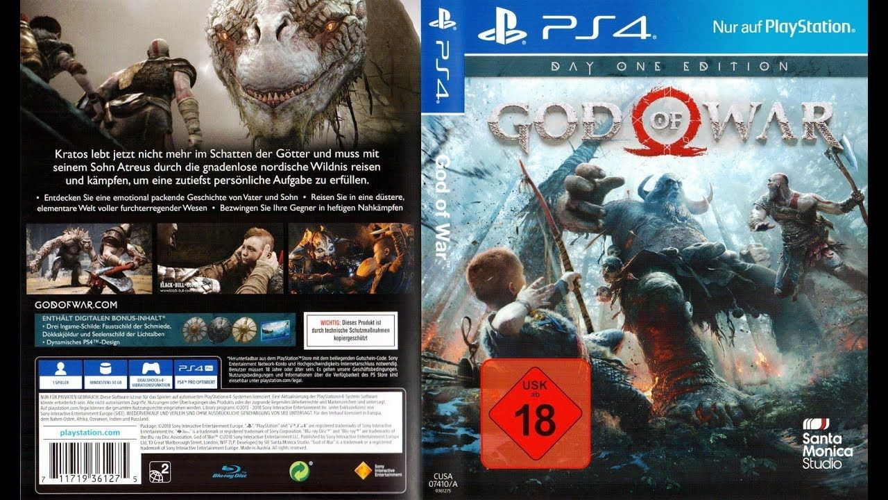 God of war (2018) | ps4 jailbreak pkg Download(Gdrive link