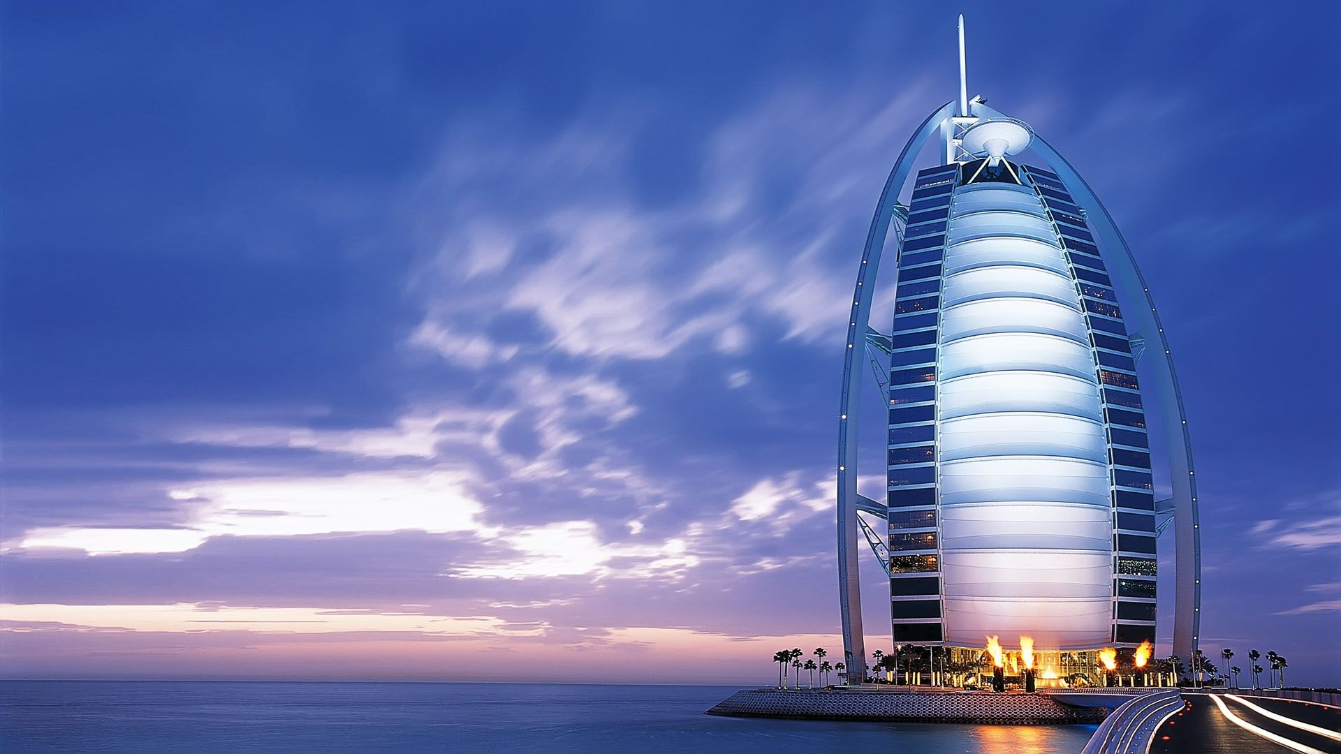 Burj Al Arab Best Travel Wallpaper 1080p Full Hd Background