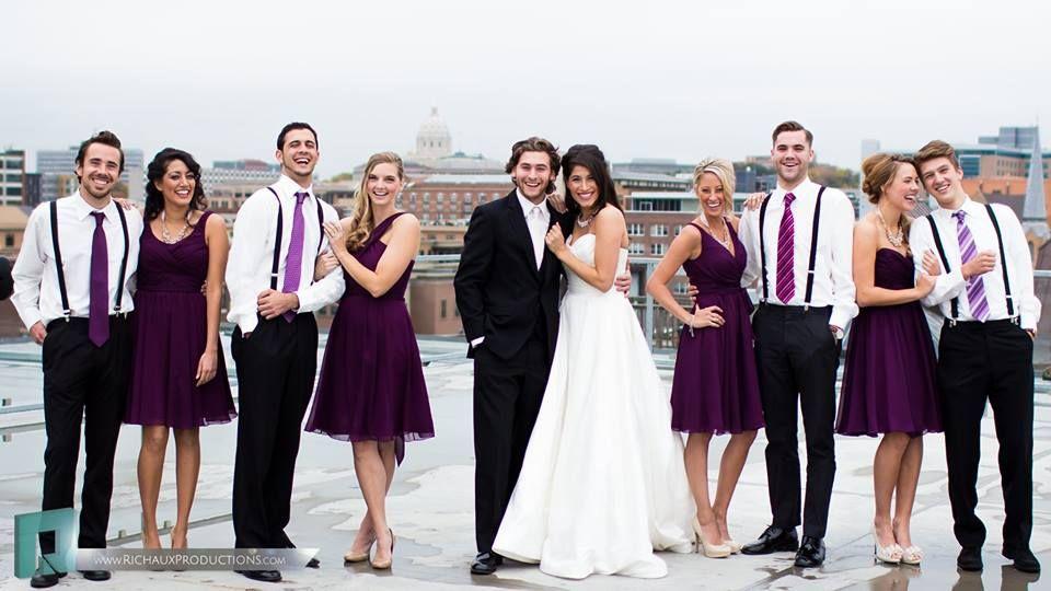 Wedding party look (plus vests)