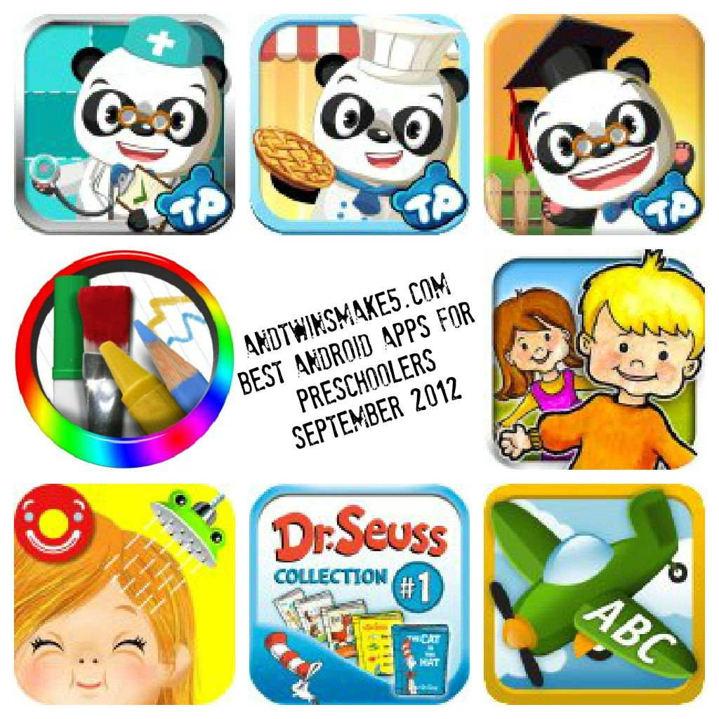 Best Android Apps For PreSchool Kids 2012 #tech #parenting