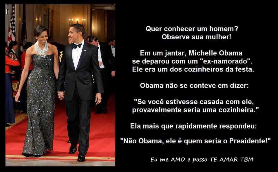 Michelle Obama - Antigo Namorado