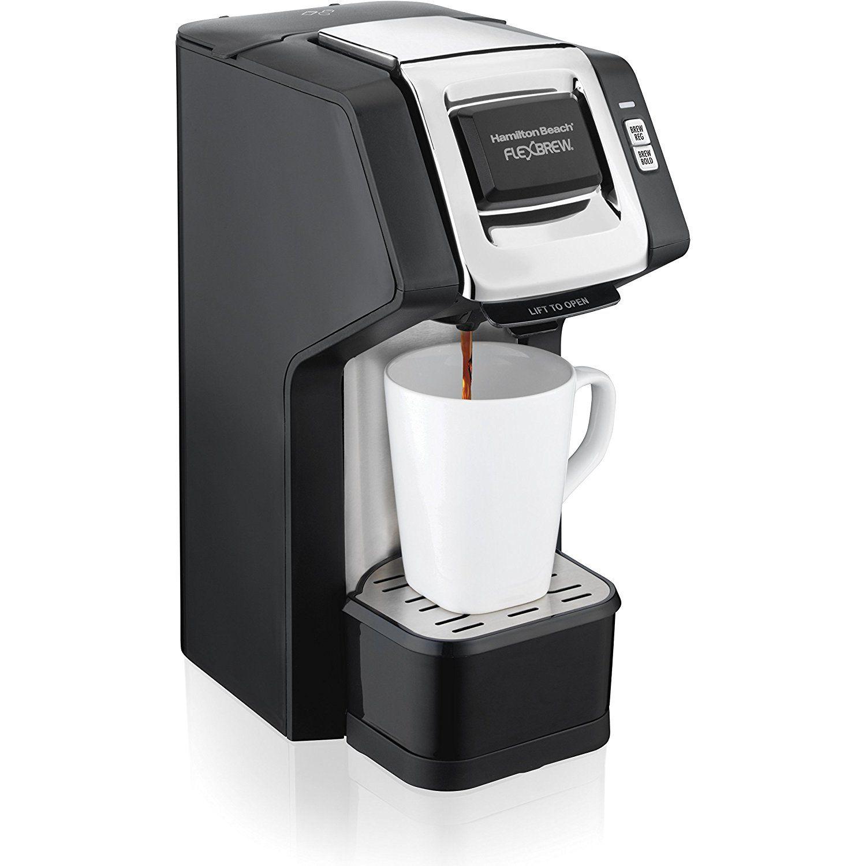 Hamilton Beach FlexBrew SingleServe Coffee Maker for K