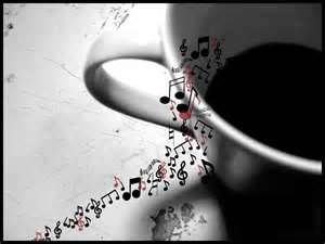 Two of my favorite things, coffee and music!
