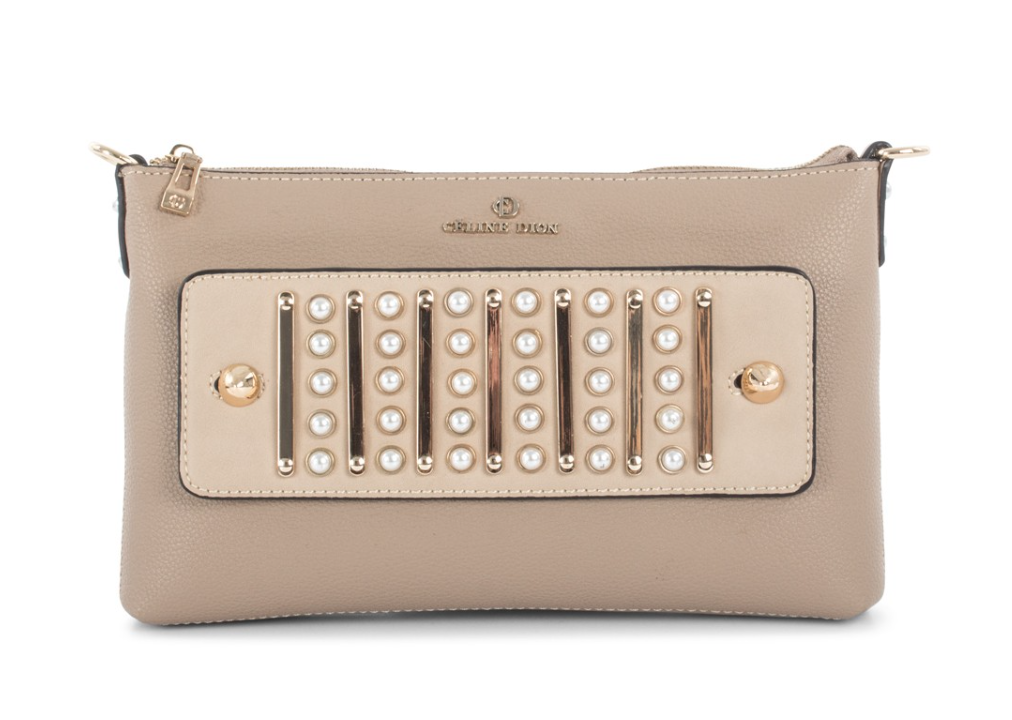 df4d4718e491 MAESTRO - CLUTCH - Céline Dion Collection l Leather-like clutch with  pass-through