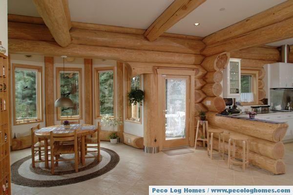 Pics Of Log Home Interiors | Peco Log Homes / Log Home Pictures