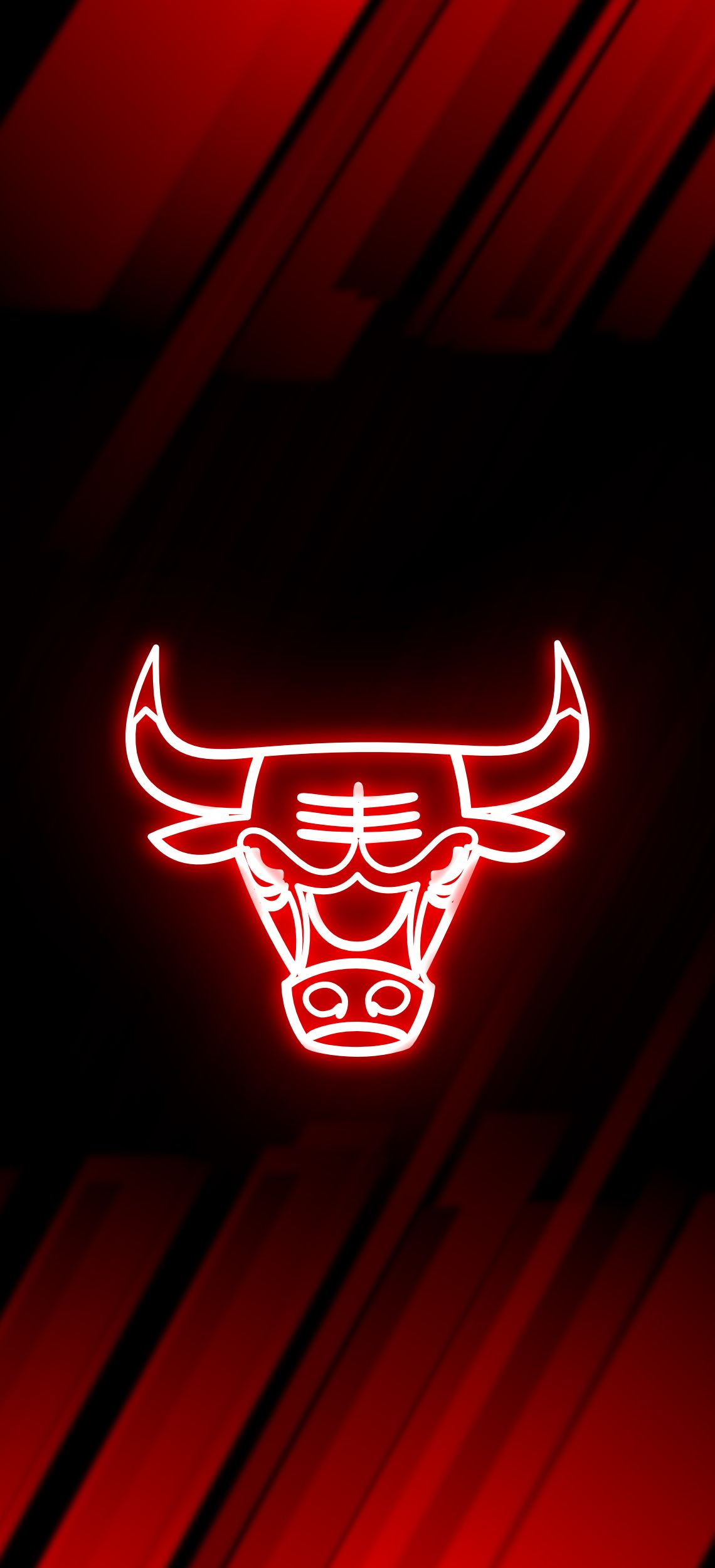 Sportsign Shop Redbubble Chicago Bulls Wallpaper Bulls Wallpaper Neon Wallpaper