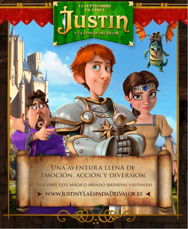 Visita la nueva web de Justin Y La Espada Del Valor: http://www.JustinyLaEspadaDelValor.es
