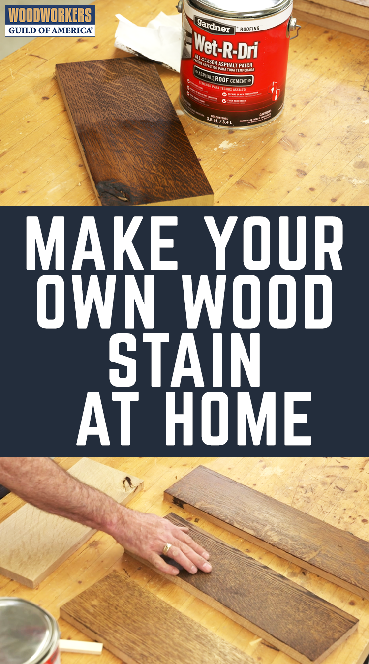 Making Homemade Wood Stain Homemade Wood Stains Woodworking Woodworking Projects