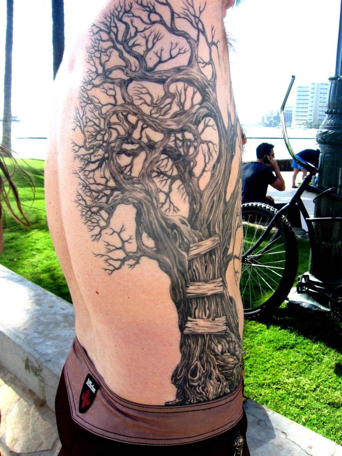036.JPG (1200×1600) Tree tattoo men, Tree sleeve tattoo