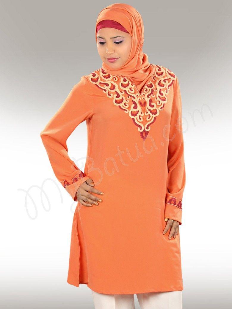 ab9c26e560356 Pin by MyBatua on Islamic Tunics - MyBatua   Islamic clothing, Tunic ...