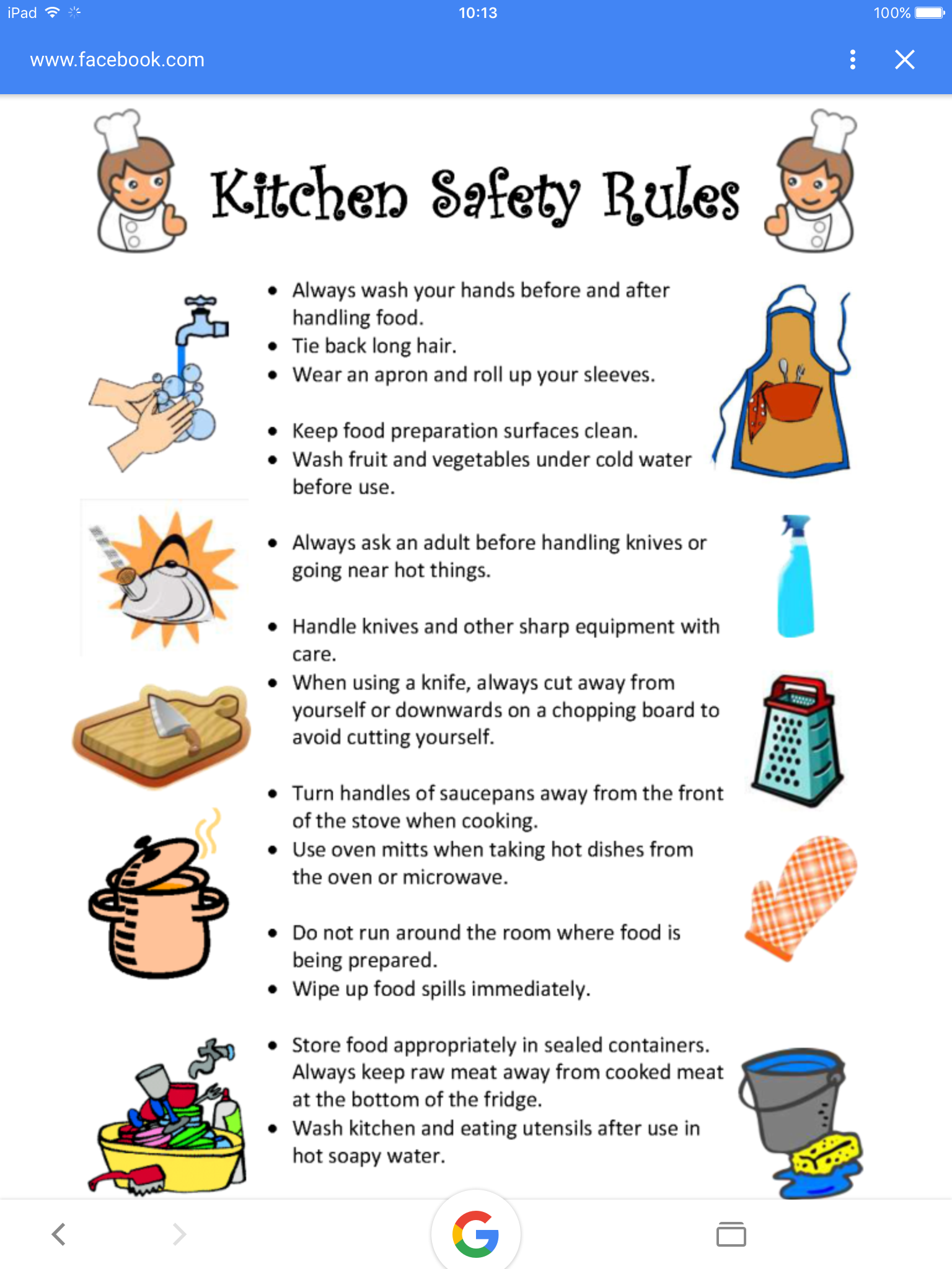 Pin by mec507 on childminding bits cooking classes for kids kitchen safety rules kids meals