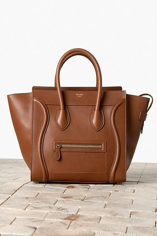 Celine Luggage  love the solid camel colour for this bag   Celine ... 1ffa8a4540