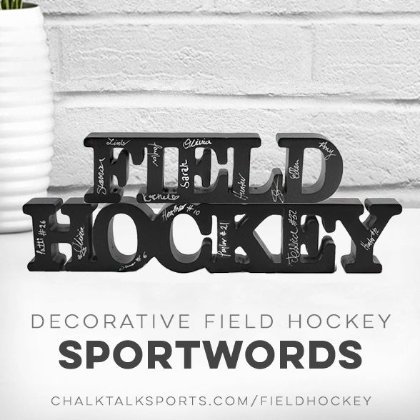 Our Decorative Fieldhockey Sportwords Make The Perfect Gift For Your Field Hockey Player Coach Or Fan Have Your Team Field Hockey Gifts Field Hockey Hockey