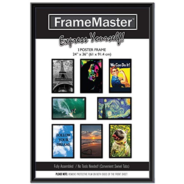 Framemaster 24x36 Poster Frame 1 Pack Black Poster Frame 24x36 Is