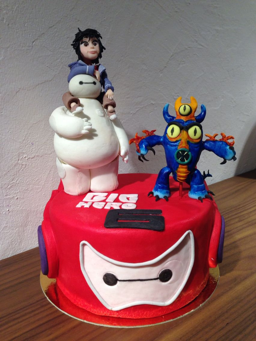 Big Hero 6 Cake Topper cakes Pinterest Hero Big and Cake