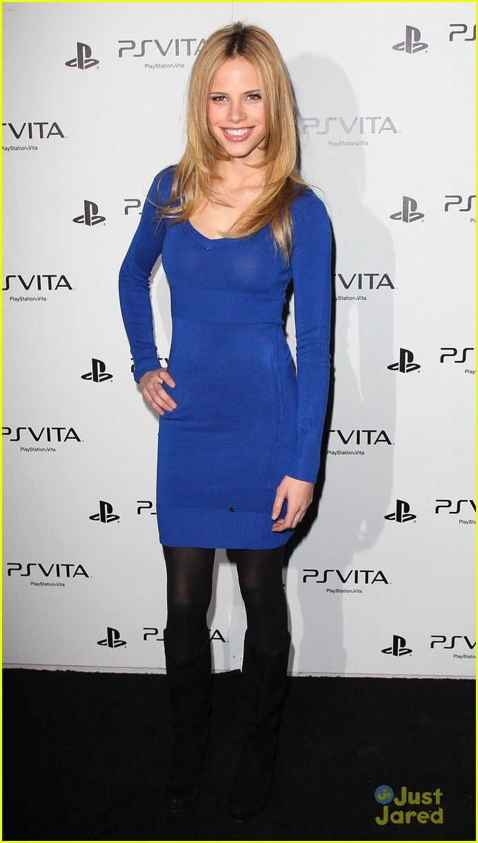 Halston Sage - Sony PlayStation Unveils The PS VITA