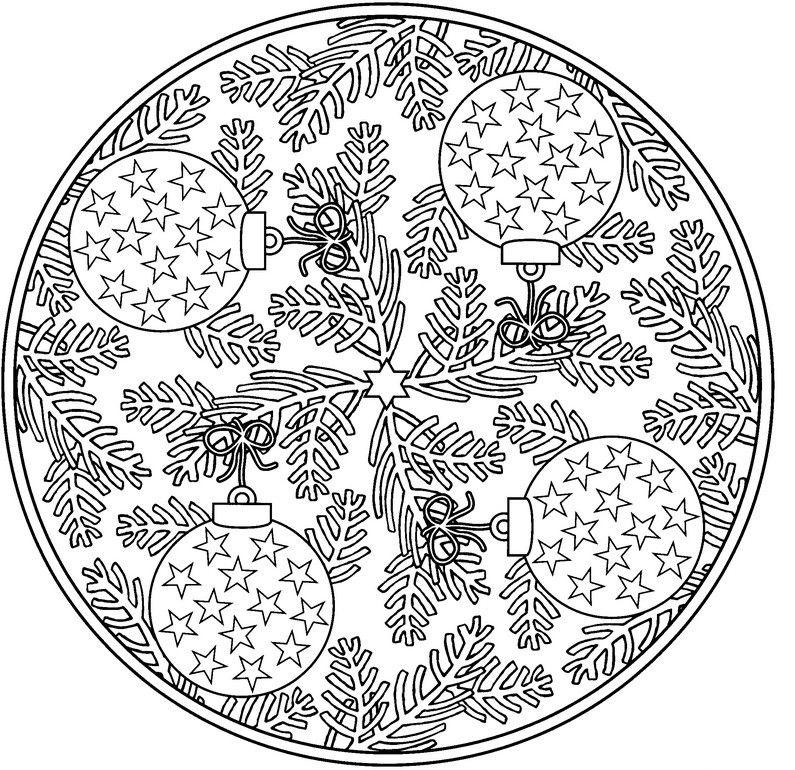 Mandala Weihnachten | Mandala | Pinterest | Weihnachten, Ausmalen ...
