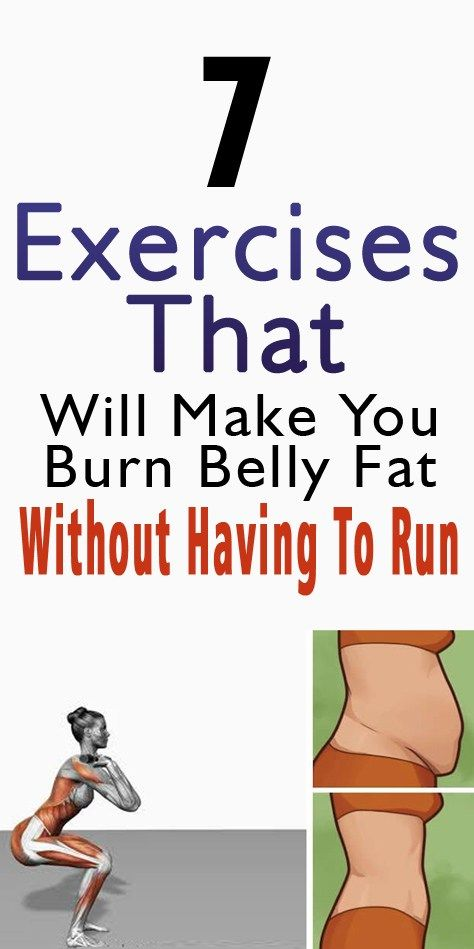 7 Exercises To Burn Belly Fat (No Running)