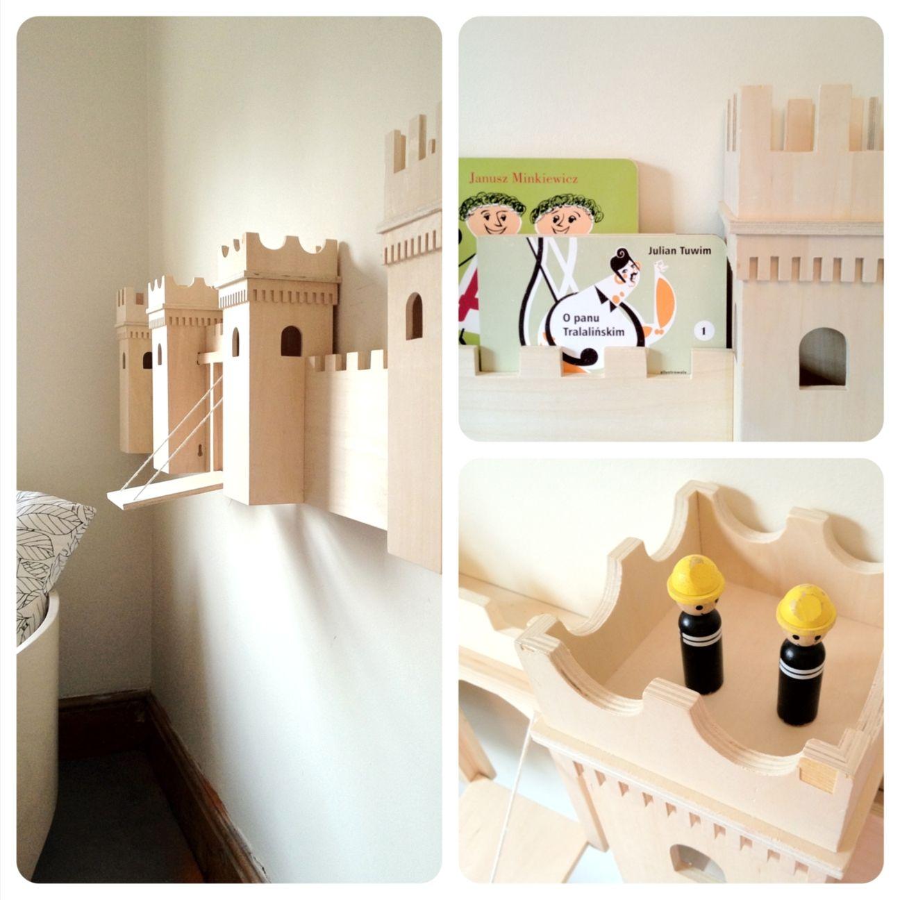 Mesy design diy project castle turned into bookshelf дизайн