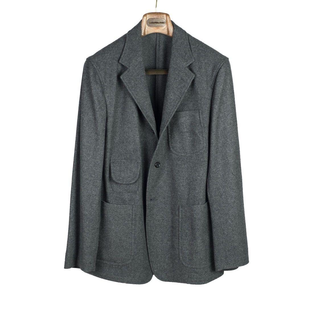 Wool cashmere flannel jacket  Fieldwrap Jacket