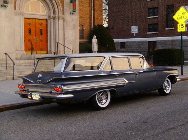 1960 Chevrolet Nomad Station Wagon Maintenance Of Old Vehicles