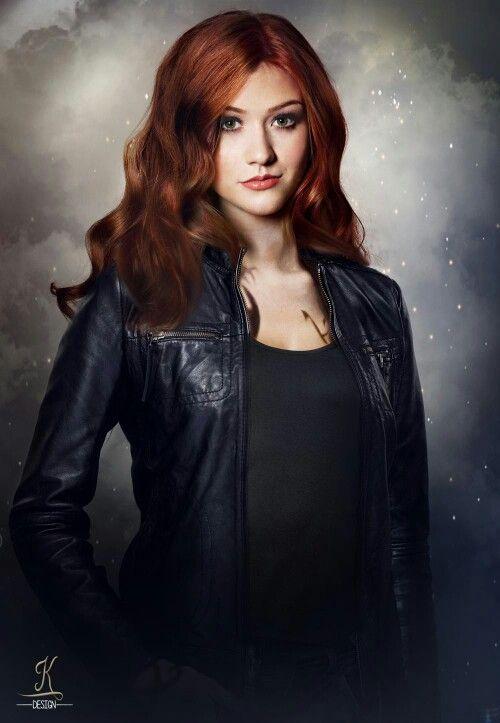 Fan made Katherine McNamara as Clary Fray. | Shadowhunters ...