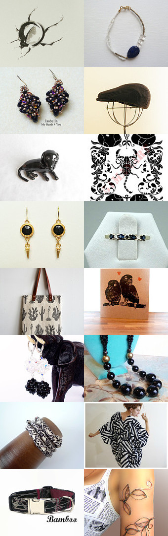 Cool Black by Kanae   on Etsy--Pinned with TreasuryPin.com