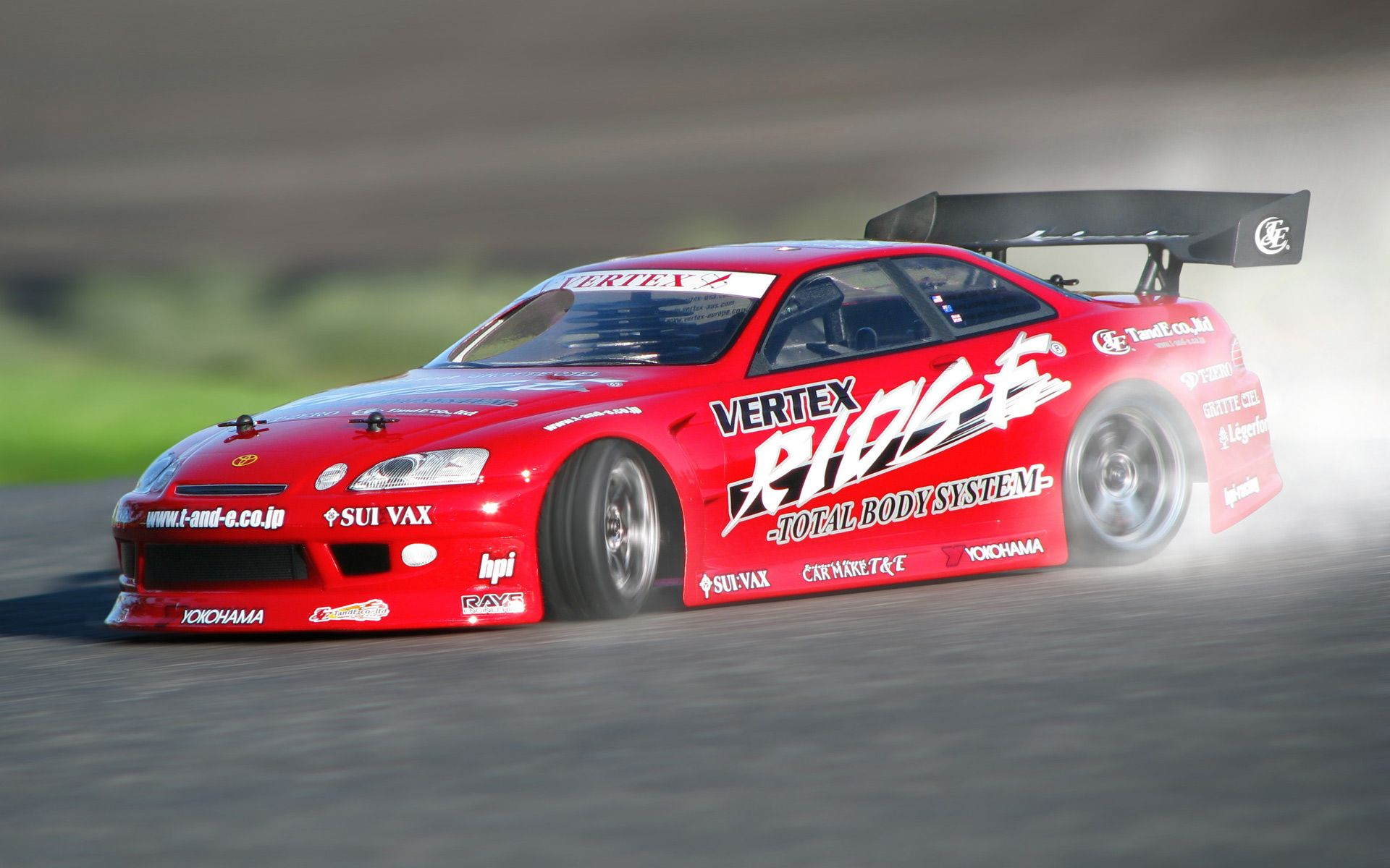 HPI Racing RTR Nitro RS4 3 Drift With Toyota Soarer Body