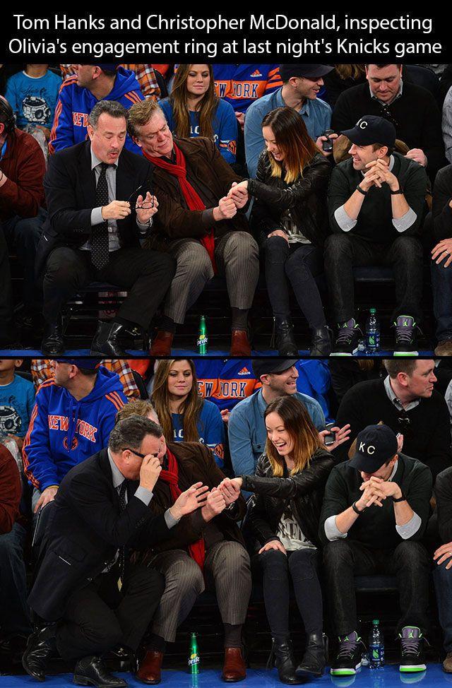 Tom Hanks is cool.