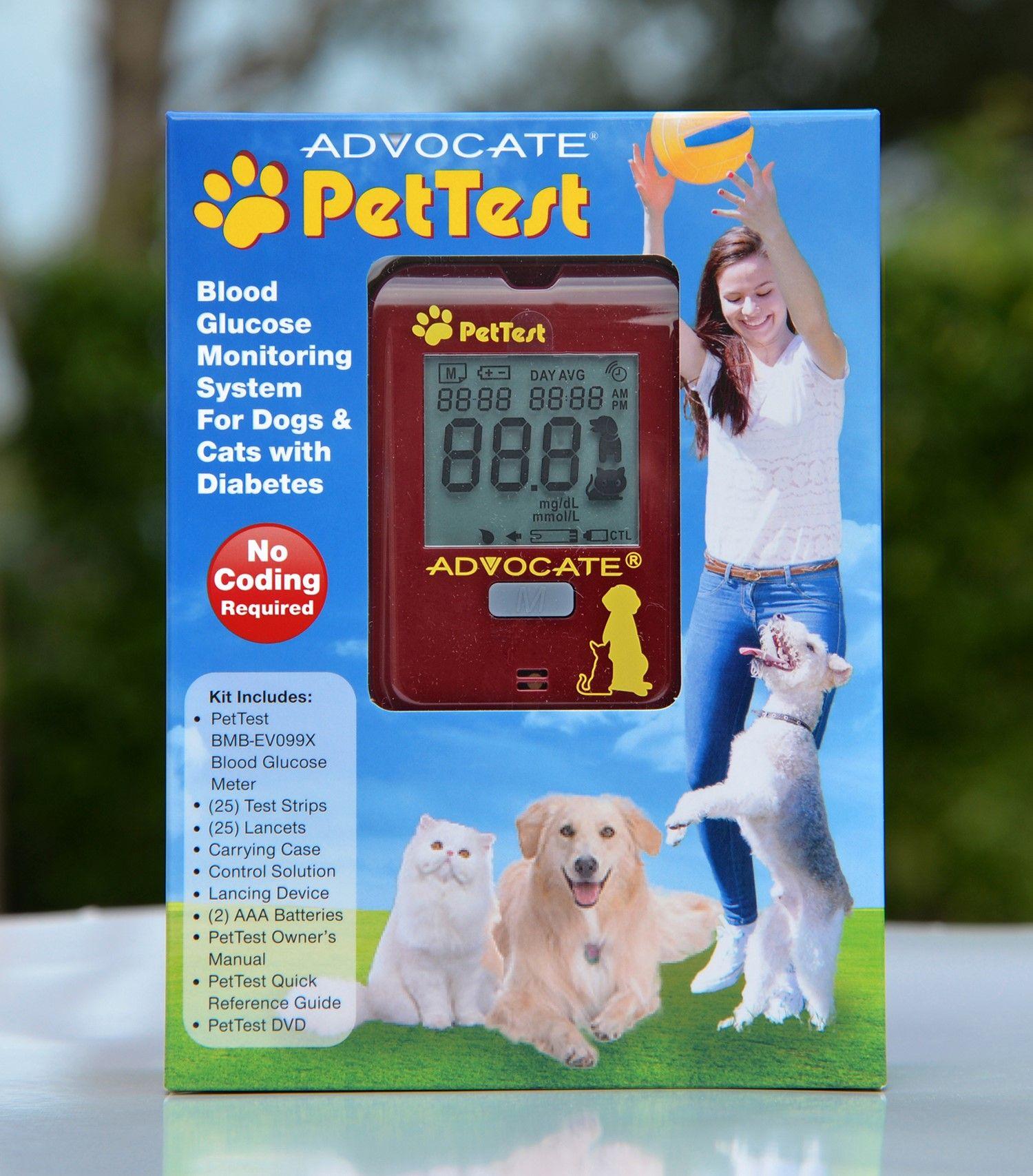 Health dog mode kit blood glucose monitor